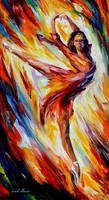 Passion And Fire by Leonid Afremov