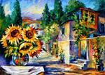 Greek Noon by Leonid Afremov