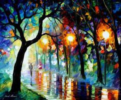 Dark Night by Leonid Afremov