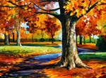 Bristol Fall by Leonid Afremov