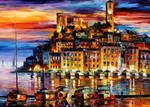 Cannes France by Leonid Afremov