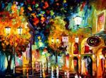 Night invitation by Leonid Afremov