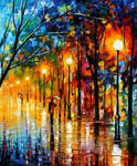 Colors of winter by Leonid Afremov