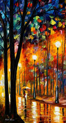 Misty glow Oil Painting On Canvas by L.Afremov