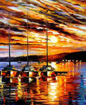 In the expectation by Leonid Afremov