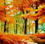 Fall Mood by Leonid Afremov