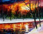 Winter Spirit by Leonid Afremov