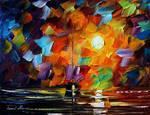 Lonely night by Leonid Afremov