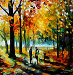 Couples by Leonid Afremov