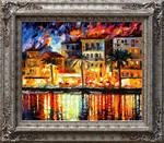 Italy framed by Leonid Afremov