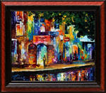 New cityscape by Leonid Afremov