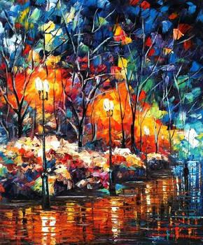 Sweet light by Leonid Afremov
