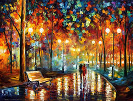 Rain rustle by Leonid Afremov