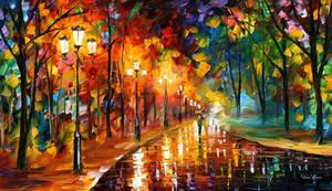 Night Feeling by Leonid Afremov