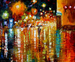 Beauty of the rain by Leonid Afremov