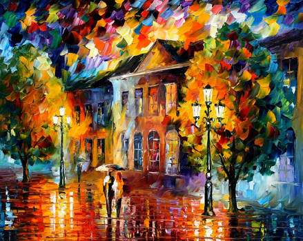 City by Leonid Afremov