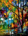 Park by Leonid Afremov