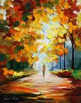 October by Leonid Afremov