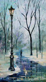 Beginning of winter by Leonid Afremov