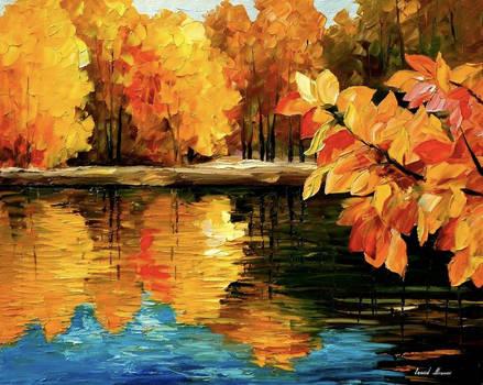 Fall Dance by Leonid Afremov