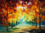 Forest of love by Leonid Afremov