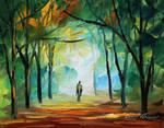 Alone by Leonid Afremov