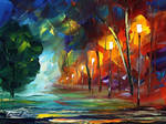 Sparks of light by Leonid Afremov