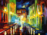 Selective night by Leonid Afremov