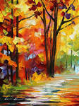 Good morning by Leonid Afremov