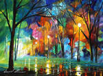 Holiday mood 2 by Leonid Afremov