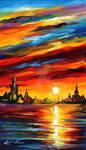 I saw a dream by Leonid Afremov