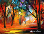 Rain of fire by Leonid Afremov