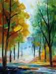 October 3 by Leonid Afremov
