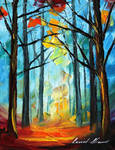 Wise forest by Leonid Afremov