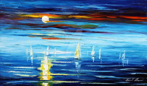 Sea 4 by Leonid Afremov