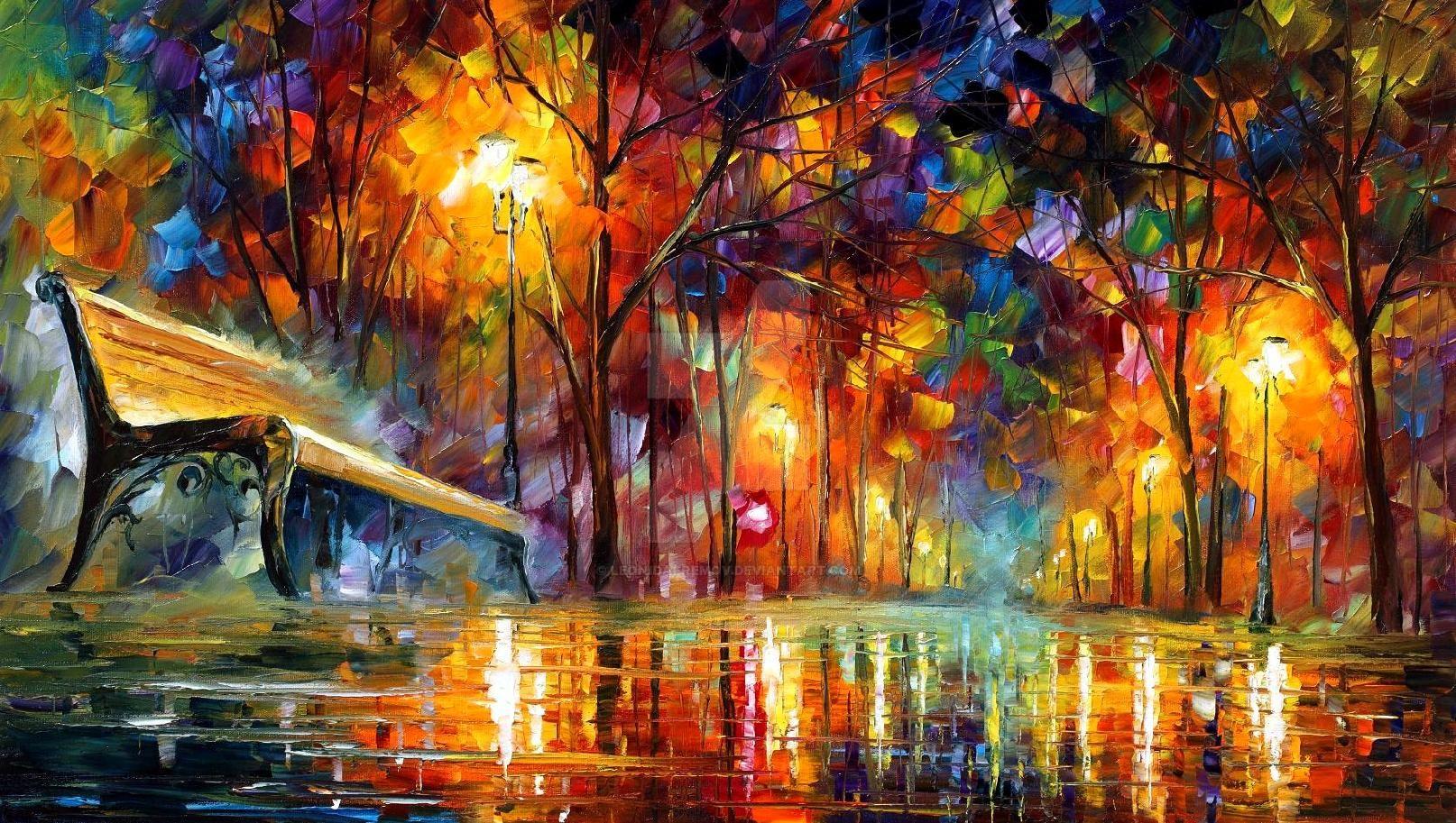 Lost Love by Leonid Afremov by Leonidafremov