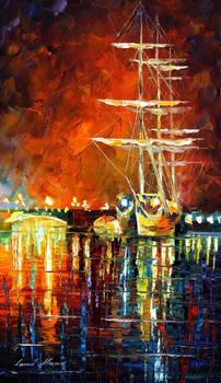 Burning Sky by Leonid Afremov