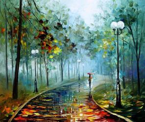 Fog Of Passion by Leonid Afremov
