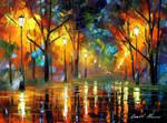 Soul of night by Leonid Afremov