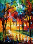 Kaleidoscope of love by Leonid Afremov