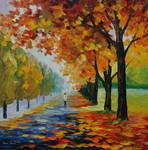 Endlless fall by Leonid Afremov