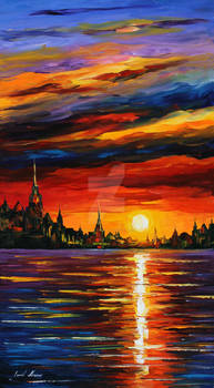 Morning sky by Leonid Afremov