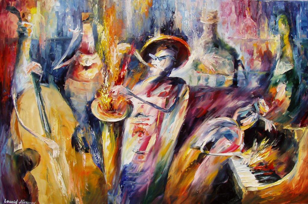 Old painting 1 by Leonid Afremov by Leonidafremov