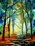 Forest Mistery by Leonid Afremov