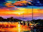 Sicily - Messina by Leonid Afremov