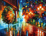 Street of hope by Leonid Afremov
