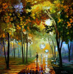 October reflections by Leonid Afremov