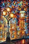 London's Dreams by Leonid Afremov