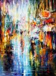 Long Rain - by Leonid Afremov