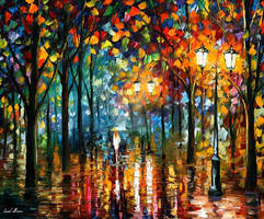 Magic Park by Leonid Afremov